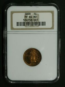 Click now to see the BUY IT NOW Price! 1899 PROOF INDIAN HEAD CENT COPPER PENNY NGC PR 64 RD