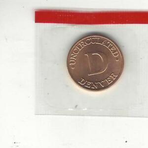 DENVER TREASURY MINT SET MEDAL / TOKEN MINT SEALED IN CELLOPHANE