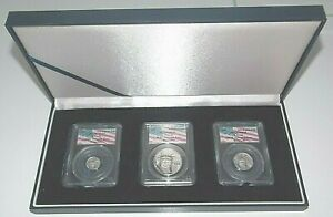 Click now to see the BUY IT NOW Price! 2001 MS69 $100 $25 & $10  PLATINUM EAGLE SET PCGS WTC WORLD TRADE CENTER 911