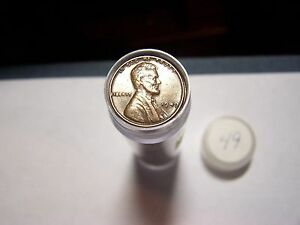 ROLL OF 1949 LINCOLN WHEATS CIRCULATED