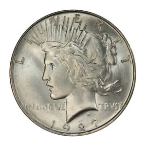 Click now to see the BUY IT NOW Price! 1927 D $1 PEACE DOLLAR PCGS MS66 3070