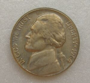 USA US UNITED STATES COIN 5 CENTS 1964 NICKEL 21MM