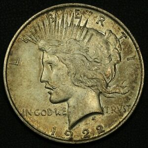 Click now to see the BUY IT NOW Price! 1922 MUSTACHE VAM 12A PEACE SILVER DOLLAR