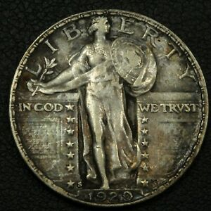 Click now to see the BUY IT NOW Price! 1929 S STANDING LIBERTY SILVER QUARTER