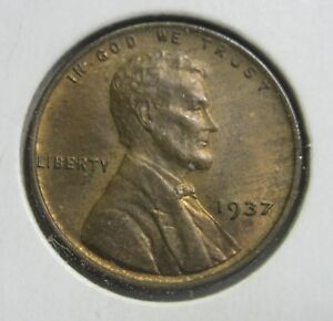 1937 P LINCOLN WHEAT CENT HIGH GRADE