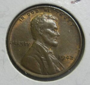 1942 P LINCOLN WHEAT CENT HIGH GRADE