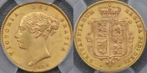 Click now to see the BUY IT NOW Price! AUSTRALIA 1872 SYDNEY HALF SOVEREIGN   PCGS MS62