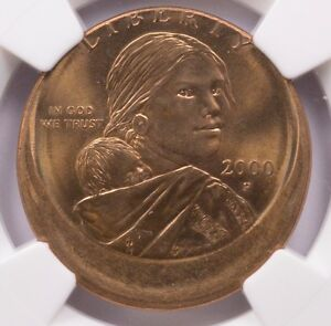Click now to see the BUY IT NOW Price! NGC $1 2000 P SACAGAWEA DOLLAR STRUCK 15  OFF CENTER MS 63