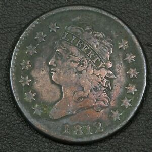 Click now to see the BUY IT NOW Price! 1812 CLASSIC HEAD COPPER LARGE CENT   CORROSION & CLEANED