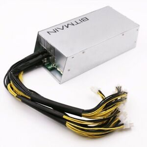 APW3   BITMAIN POWER SUPPLY ANTMINER 12V 1600W PSU  SEALED