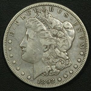 Click now to see the BUY IT NOW Price! 1892 S MORGAN SILVER DOLLAR