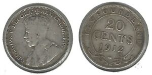 NEWFOUNDLAND 1812  .925 SILVER 20 CENT COIN   TAKE A LOOK