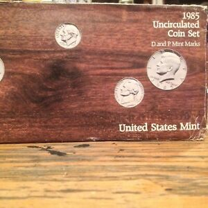 1985 PD  U.S. MINT SET ORIGINAL PACKAGE