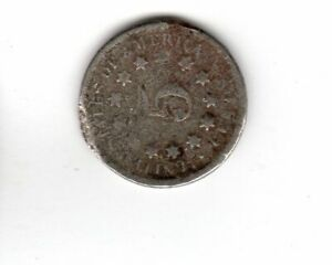 LOT OF ONE SHIELD NICKLE: 1869.
