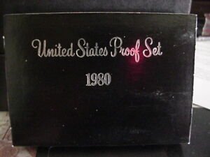 1980 US PROOF SET