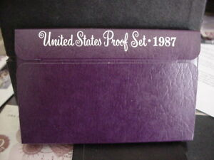 1987 US PROOF SET
