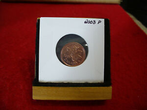 2003P CANADA  1  CENT COIN  PENNY  PROOF LIKE  HIGH  GRADE  SEALED  SEE PHOTOS