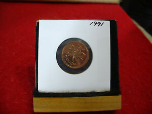 1991  CANADA  1  CENT COIN  PENNY  PROOF LIKE  HIGH  GRADE  SEALED  SEE PHOTOS