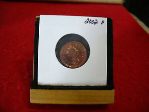 2002P CANADA  1  CENT COIN  PENNY  PROOF LIKE  HIGH  GRADE  SEALED  SEE PHOTOS