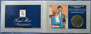 1981 UK 1 CROWN ROYAL WEDDING OF PRINCE CHARLES & DIANA IN PRESENTATION PACK