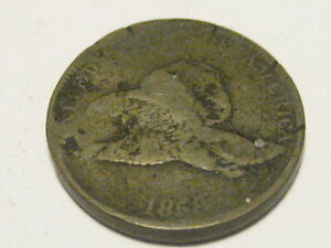 1858 LL FLYING EAGLE CENT CULL