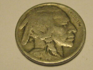 1917 P BUFFALO NICKEL VG