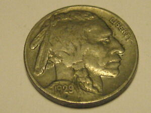 1929 P BUFFALO NICKEL XF