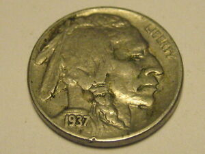 1937 P BUFFALO NICKEL XF