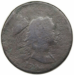 1794 LIBERTY CAP LARGE CENT  HEAD OF 1793 S 18B R4 G DETAIL