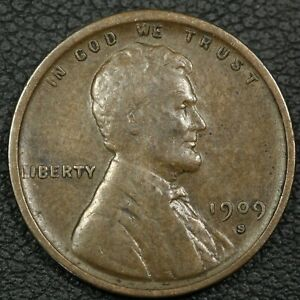 Click now to see the BUY IT NOW Price! 1909 S VDB LINCOLN WHEAT CENT COPPER PENNY