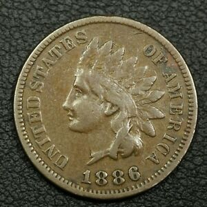 Click now to see the BUY IT NOW Price! 1886 TYPE 1 INDIAN HEAD CENT COPPER PENNY