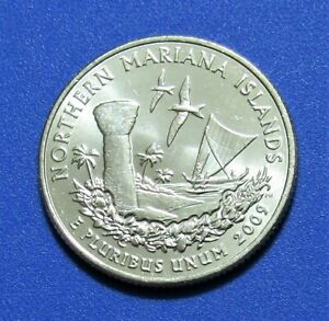 2009 D 25C NORTHERN MARIANA ISLANDS TERRITORY QUARTER