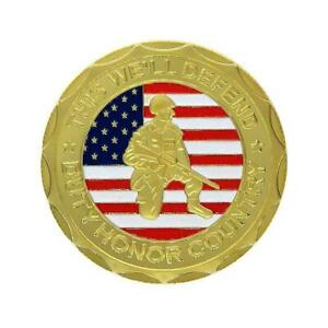 SOLDIER'S HONOR COIN COMMEMORATIVE COIN NEW LOW PRICE U2E9