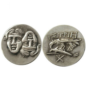 SILVER PLATED ANCIENT GREEK COIN  COIN CRAFT GIFT COMMEMORATIVE COIN NO.24