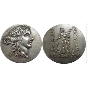 SILVER PLATED ANCIENT GREEK COIN  COIN CRAFT GIFT COMMEMORATIVE COIN NO.19
