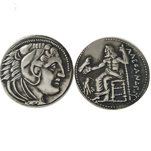SILVER PLATED ANCIENT GREEK COIN  COIN CRAFT  COMMEMORATIVE NO.03