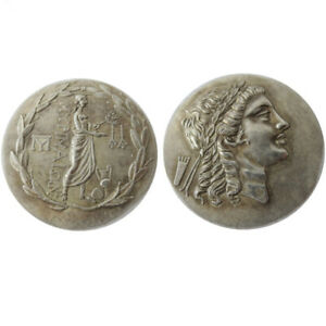 SILVER PLATED ANCIENT GREEK COIN  COIN CRAFT COMMEMORATIVE NO.12
