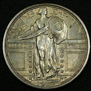 Click now to see the BUY IT NOW Price! 1917 TYPE 1 STANDING LIBERTY SILVER QUARTER