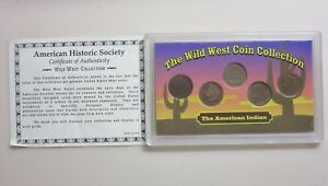 SEALED INDIAN PENNY SET THE WILD WEST COLLECTION