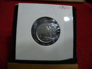 1980 CANADA  DIME  10 CENTS    TOP GRADE  80  PROOF LIKE  SEALED  SEE PHOTOS