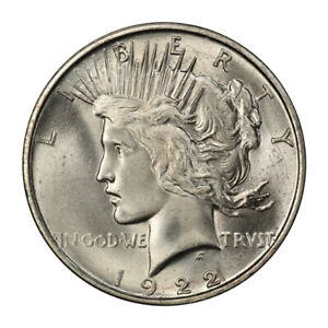Click now to see the BUY IT NOW Price! 1922 D $1 PEACE DOLLAR PCGS MS66   CAC  3119 3