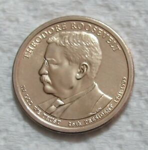 2013 D THEODORE ROOSEVELT PRESIDENTIAL DOLLAR