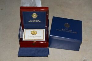 2009 UHR GOLD AMERICAN EAGLE BOX AND BOOK  NO COIN