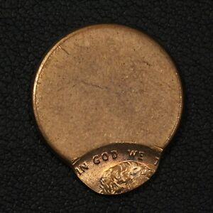 ND ND OFFCENTER ERROR LINCOLN MEMORIAL CENT PENNY   OFF CENTER