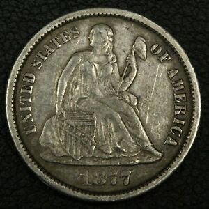 Click now to see the BUY IT NOW Price! 1877 CC CARSON CITY SEATED LIBERTY SILVER DIME