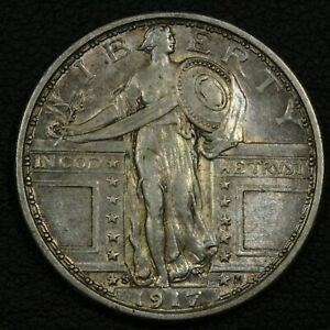 Click now to see the BUY IT NOW Price! 1917 S TYPE 1 STANDING LIBERTY SILVER QUARTER