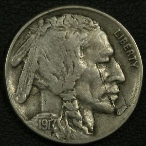 Click now to see the BUY IT NOW Price! 1917 S BUFFALO NICKEL   LAMINATION ERROR