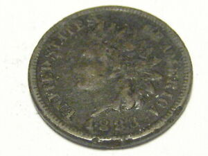 1883 INDIAN HEAD CENT CULL