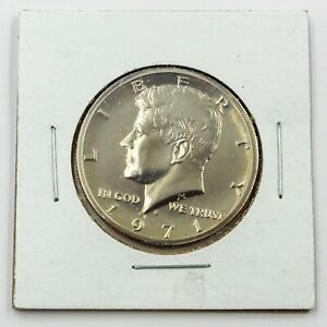 1971 S 50C PROOF FROM PROOF SET KENNEDY HALF DOLLAR