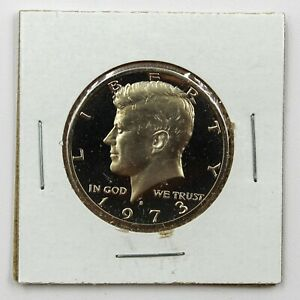 1973 S 50C PROOF FROM PROOF SET KENNEDY HALF DOLLAR